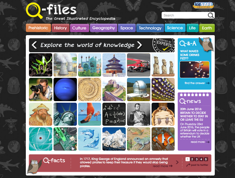 How Q-files.com is helping to provide Education For All